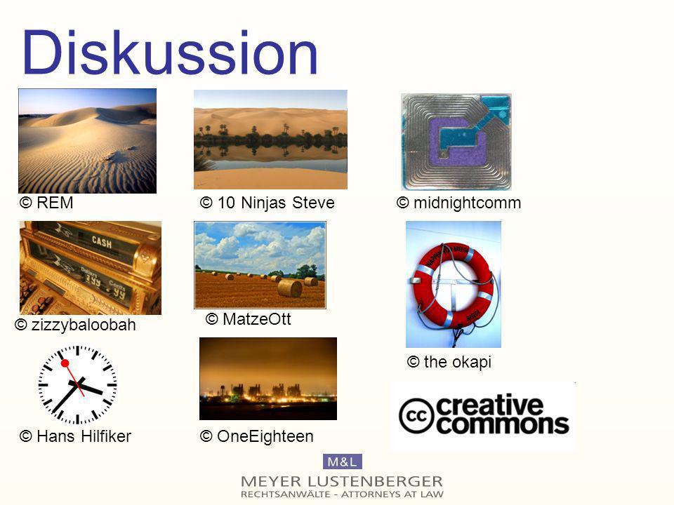 Diskussion © REM © 10 Ninjas Steve © midnightcomm © MatzeOtt
