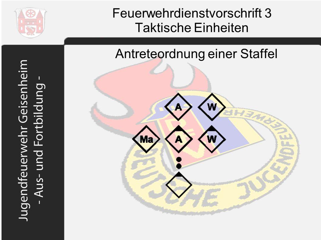 Feuerwehrdienstvorschrift 3 Taktische Einheiten