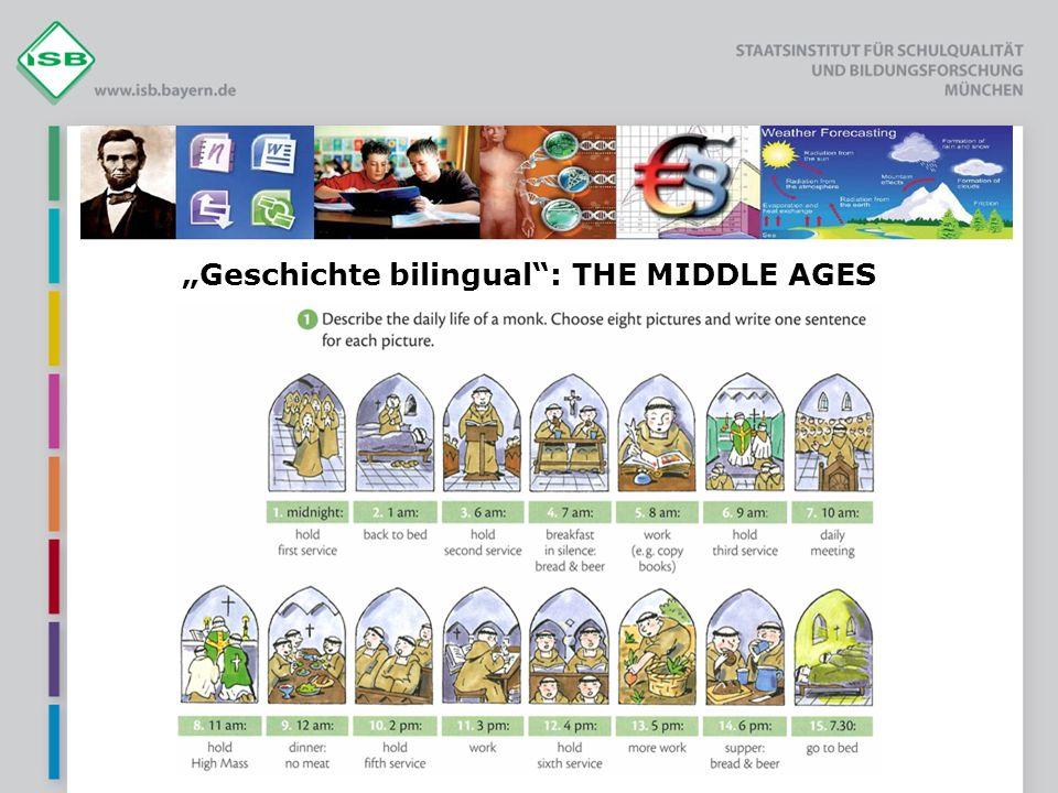 """Geschichte bilingual : THE MIDDLE AGES"