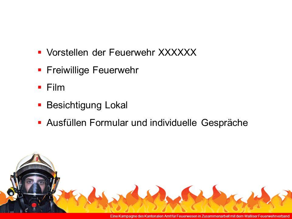 Vorstellen der Feuerwehr XXXXXX Freiwillige Feuerwehr Film