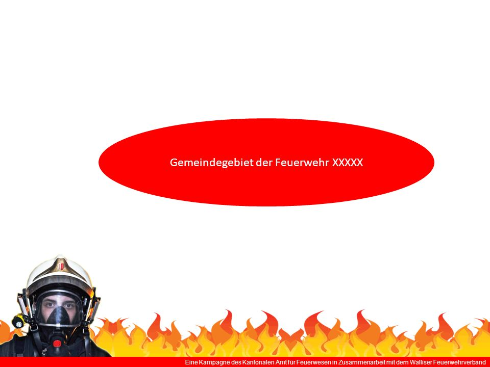 Gemeindegebiet der Feuerwehr XXXXX
