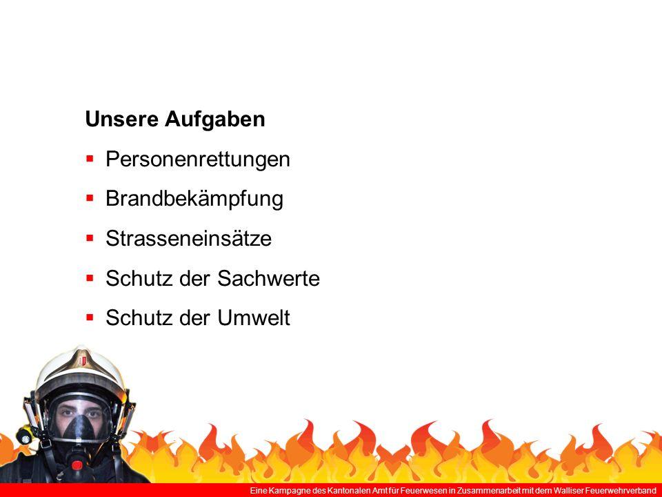 Unsere Aufgaben Personenrettungen Brandbekämpfung Strasseneinsätze