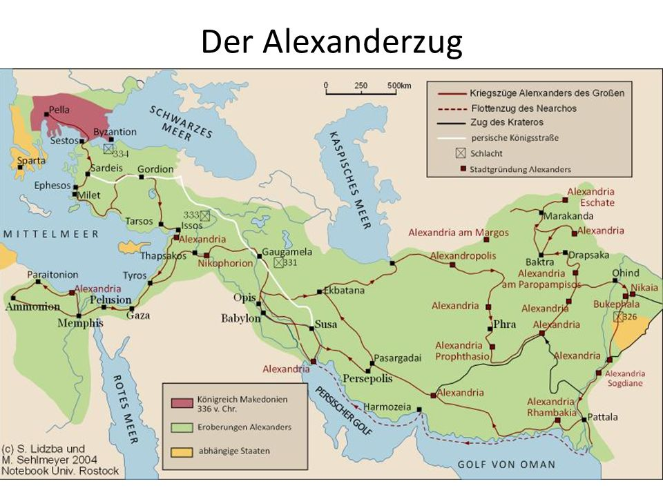 Der Alexanderzug