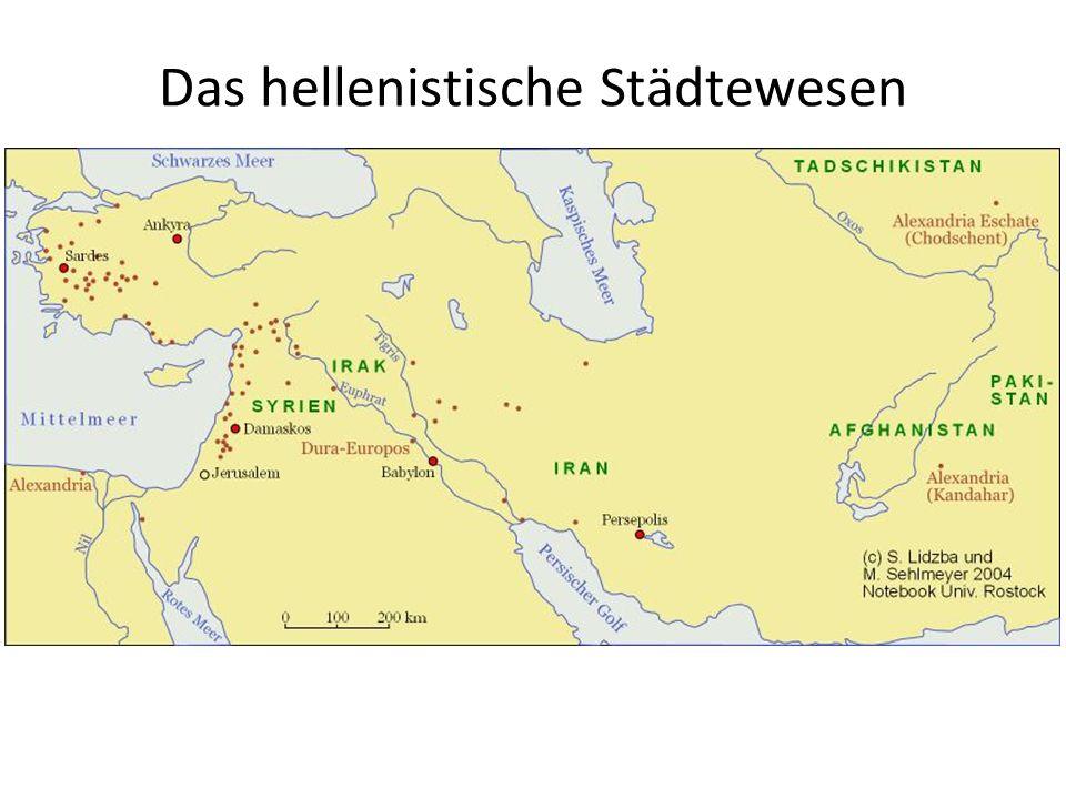 Das hellenistische Städtewesen