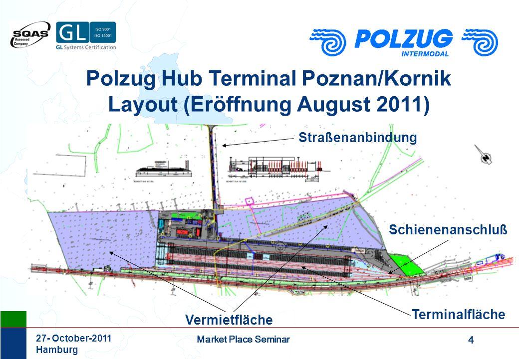 Polzug Hub Terminal Poznan/Kornik Layout (Eröffnung August 2011)