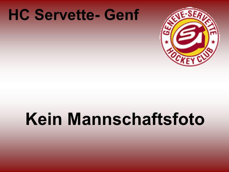 HC Servette- Genf Kein Mannschaftsfoto
