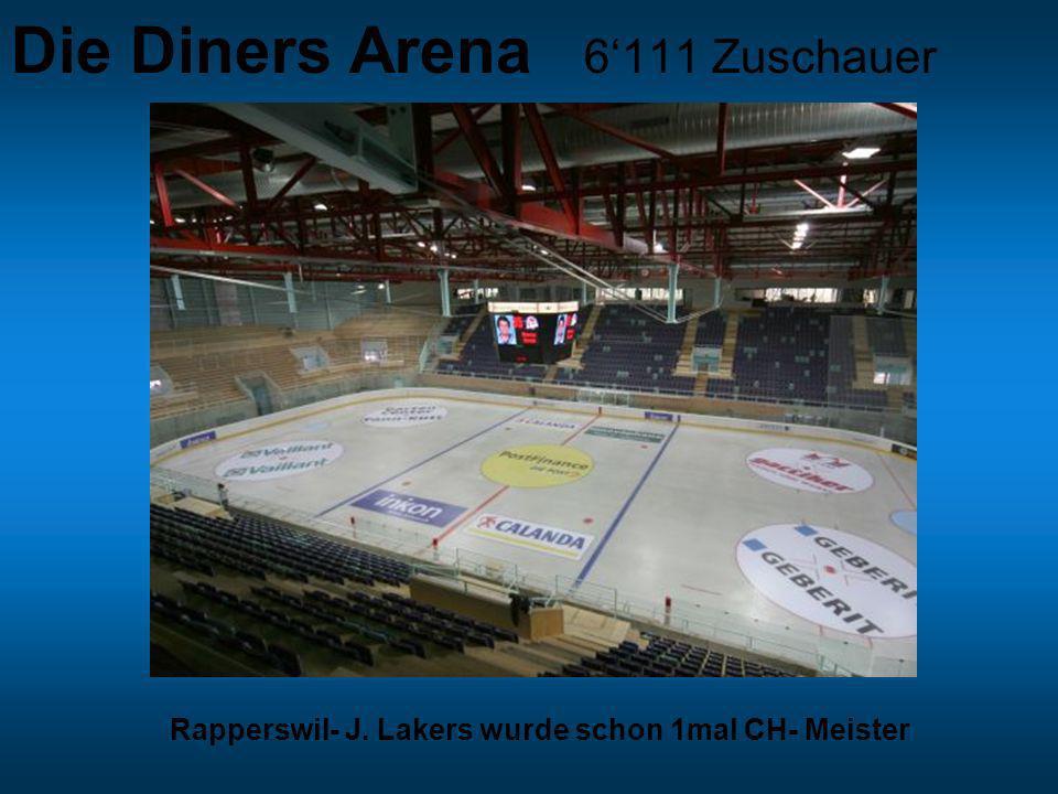 Die Diners Arena 6'111 Zuschauer