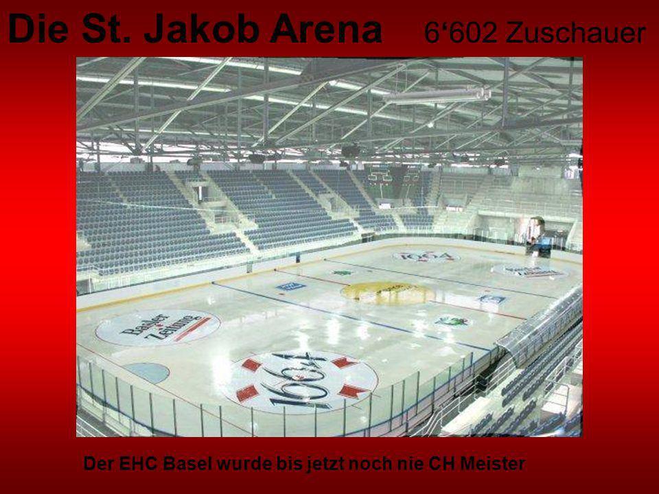Die St. Jakob Arena 6'602 Zuschauer