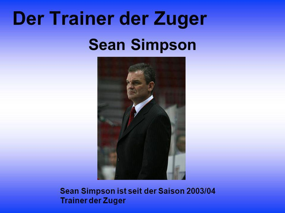 Der Trainer der Zuger Sean Simpson