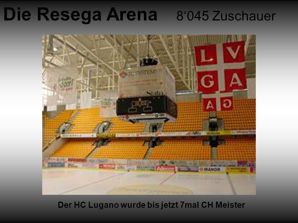 Die Resega Arena 8'045 Zuschauer