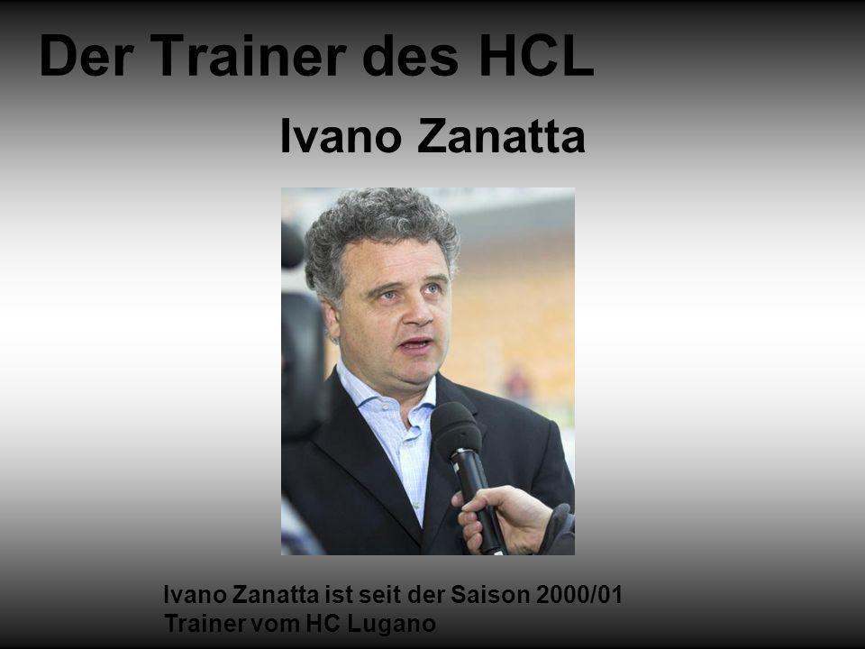 Der Trainer des HCL Ivano Zanatta