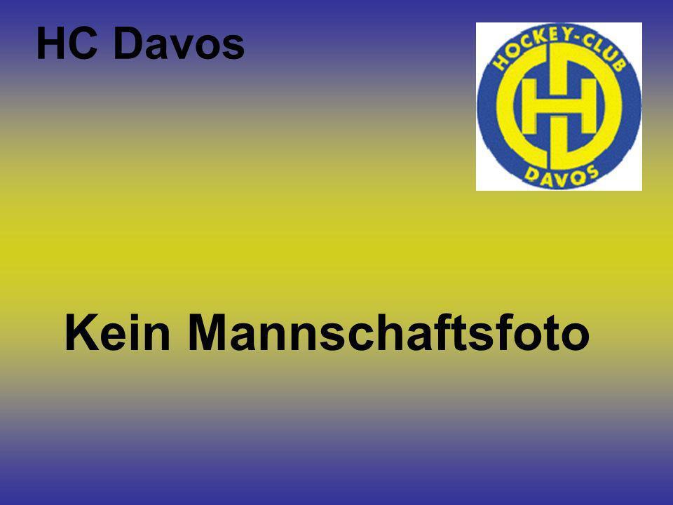 HC Davos Kein Mannschaftsfoto