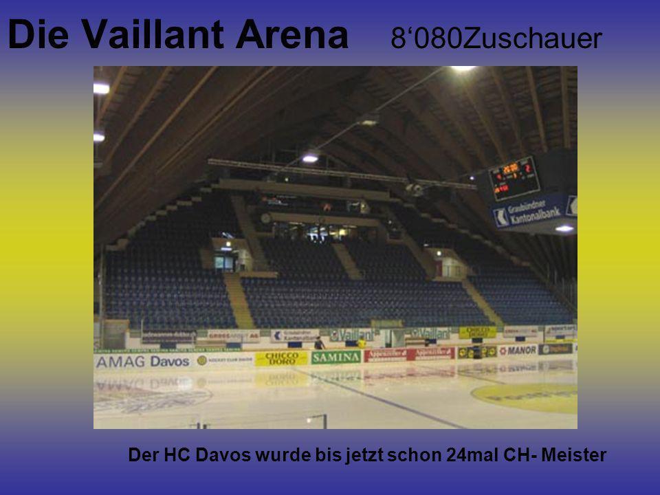 Die Vaillant Arena 8'080Zuschauer