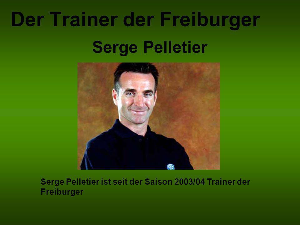 Der Trainer der Freiburger