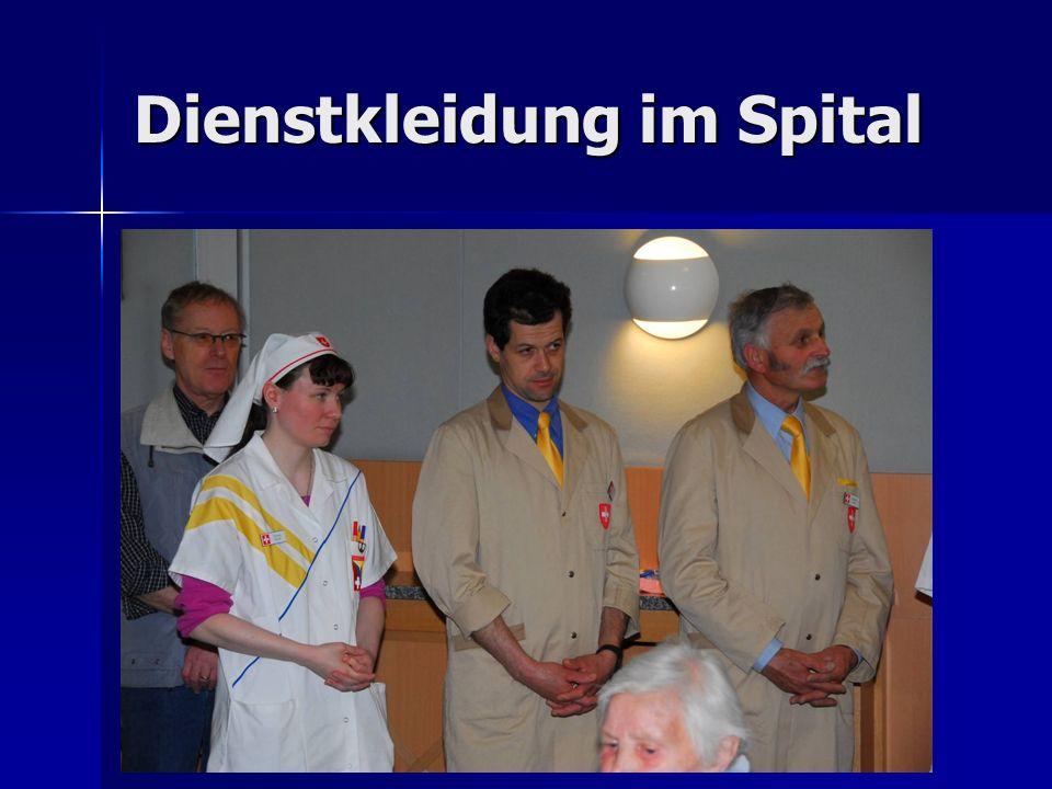 Dienstkleidung im Spital