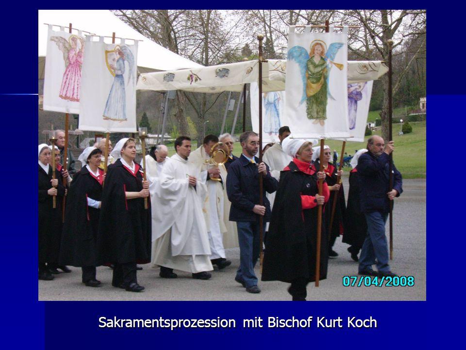 Sakramentsprozession mit Bischof Kurt Koch