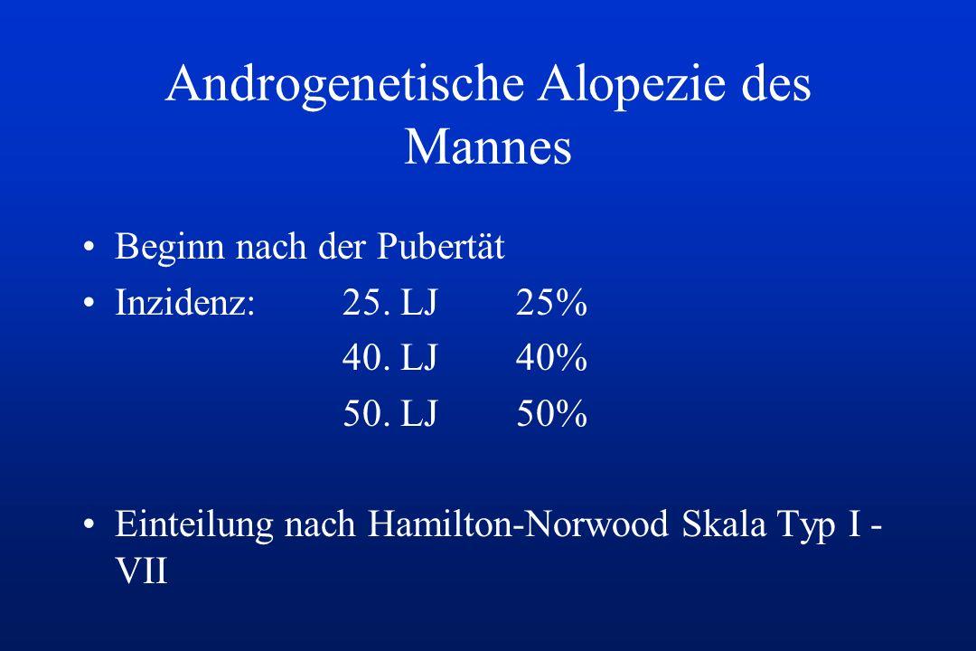 Androgenetische Alopezie des Mannes