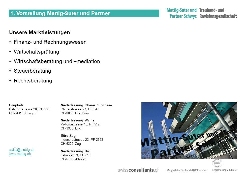 1. Vorstellung Mattig-Suter und Partner