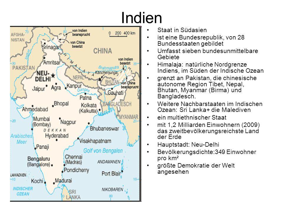 Indien Staat in Südasien