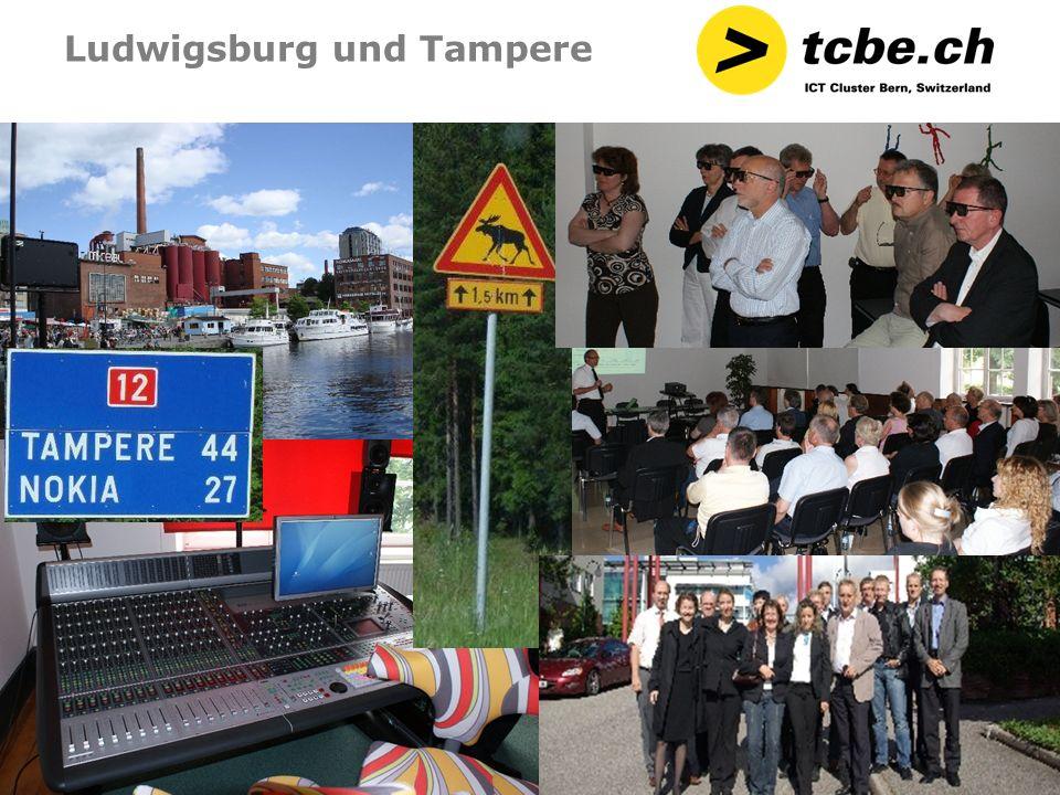 Ludwigsburg und Tampere