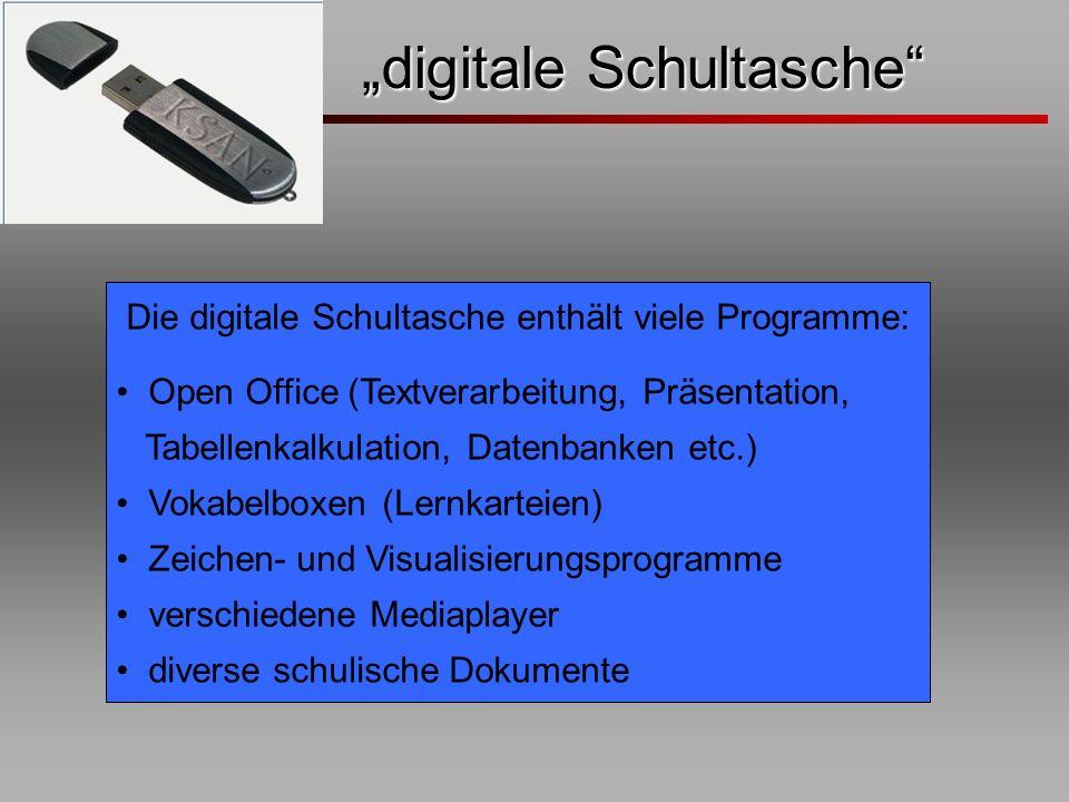 """""""digitale Schultasche"""