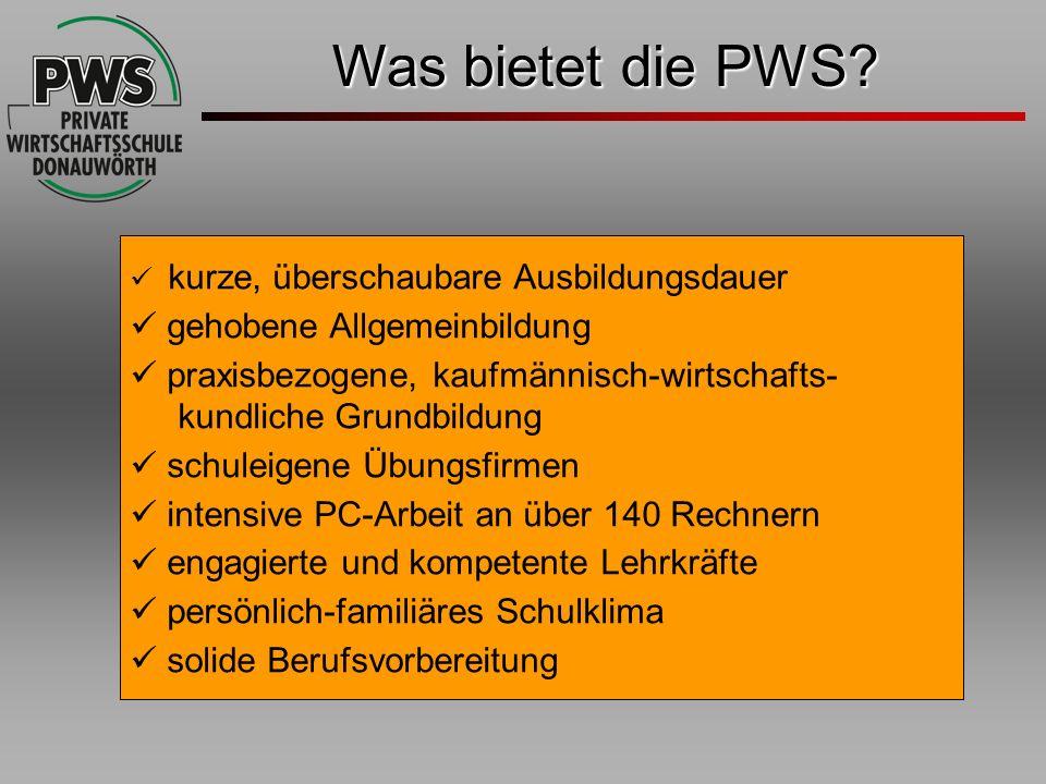 Was bietet die PWS gehobene Allgemeinbildung