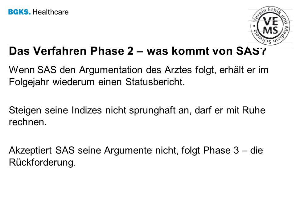 Das Verfahren Phase 2 – was kommt von SAS