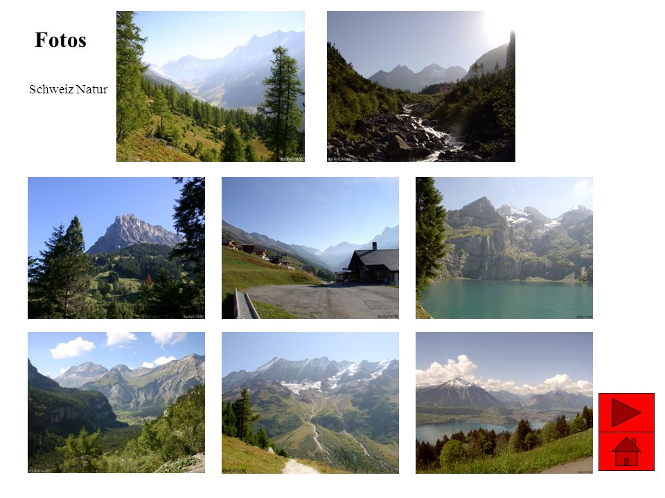 Fotos Schweiz Natur