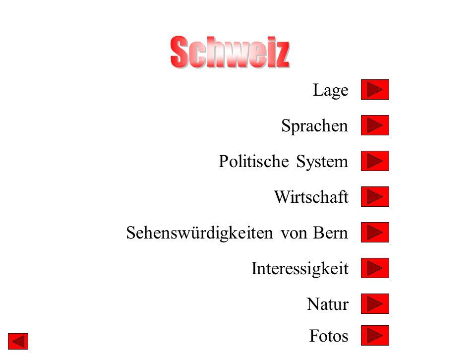 Schweiz Lage Sprachen Politische System Wirtschaft