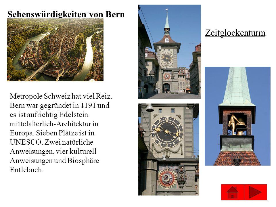 Sehenswürdigkeiten von Bern