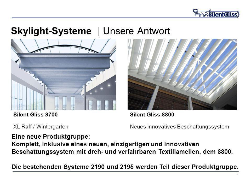 Skylight-Systeme | Unsere Antwort