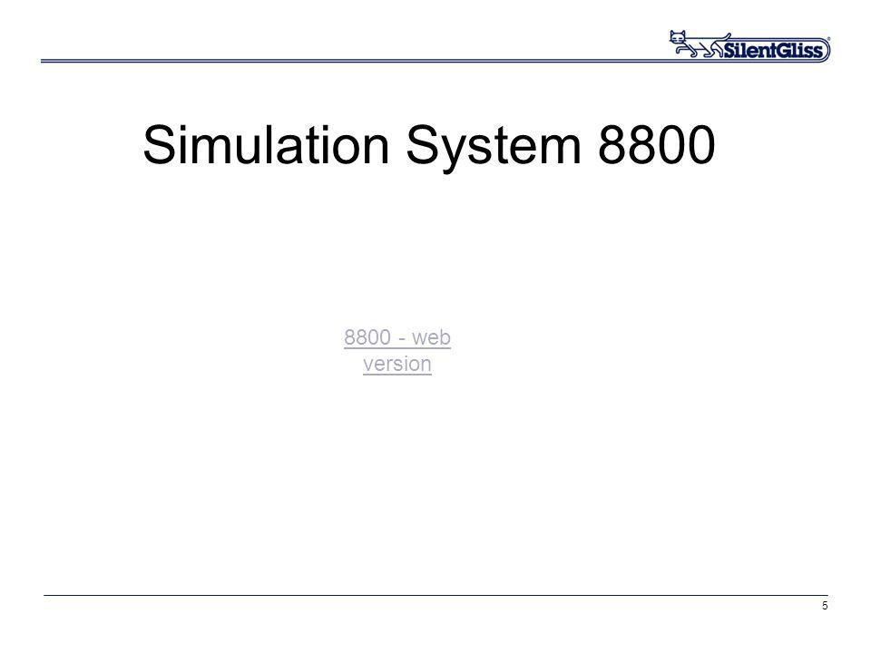 Simulation System 8800 8800 - web version