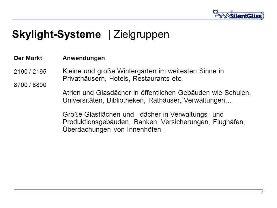 Skylight-Systeme | Zielgruppen
