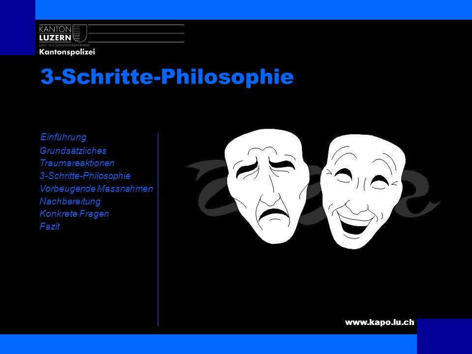 3-Schritte-Philosophie