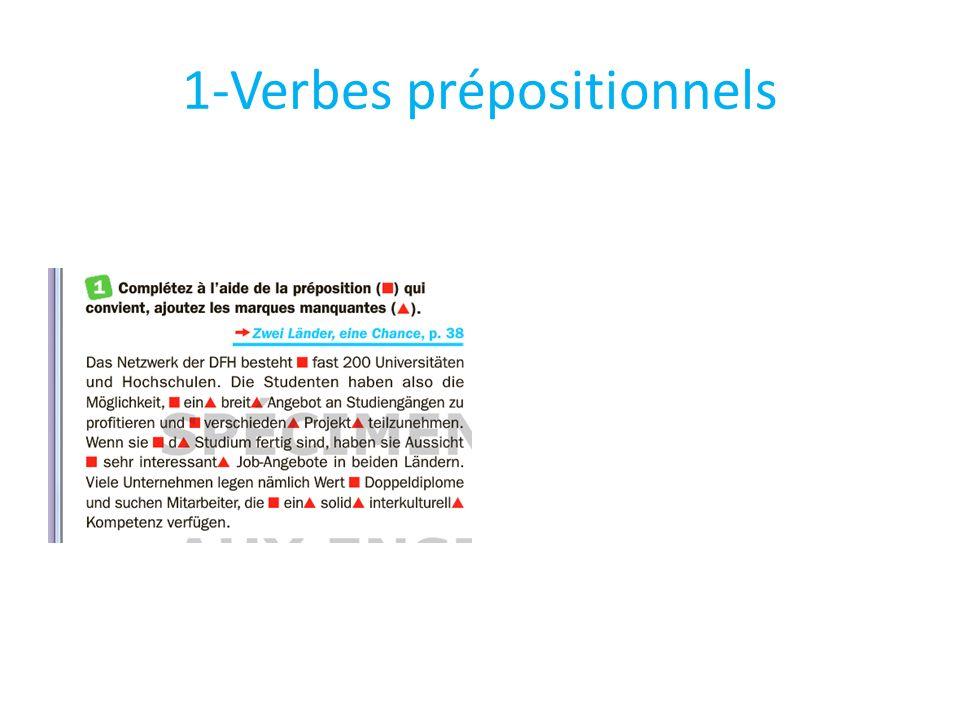 1-Verbes prépositionnels