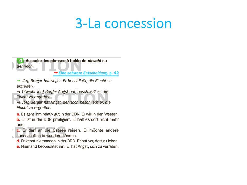 3-La concession