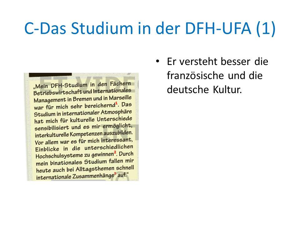 C-Das Studium in der DFH-UFA (1)