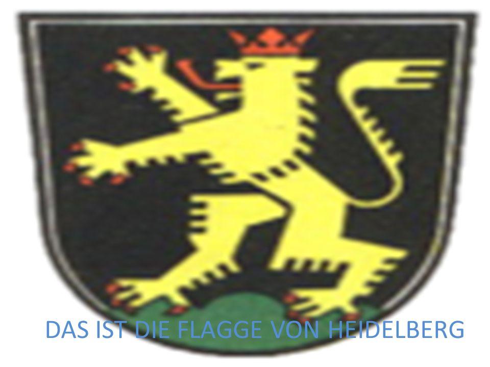 DAS IST DIE FLAGGE VON HEIDELBERG