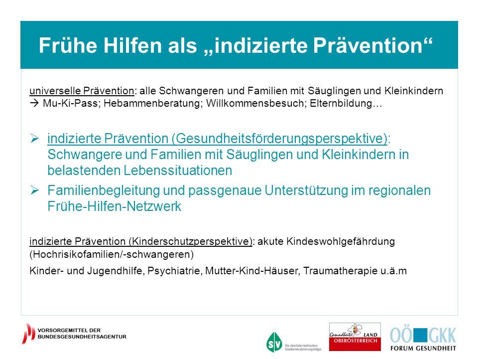 """Frühe Hilfen als """"indizierte Prävention"""