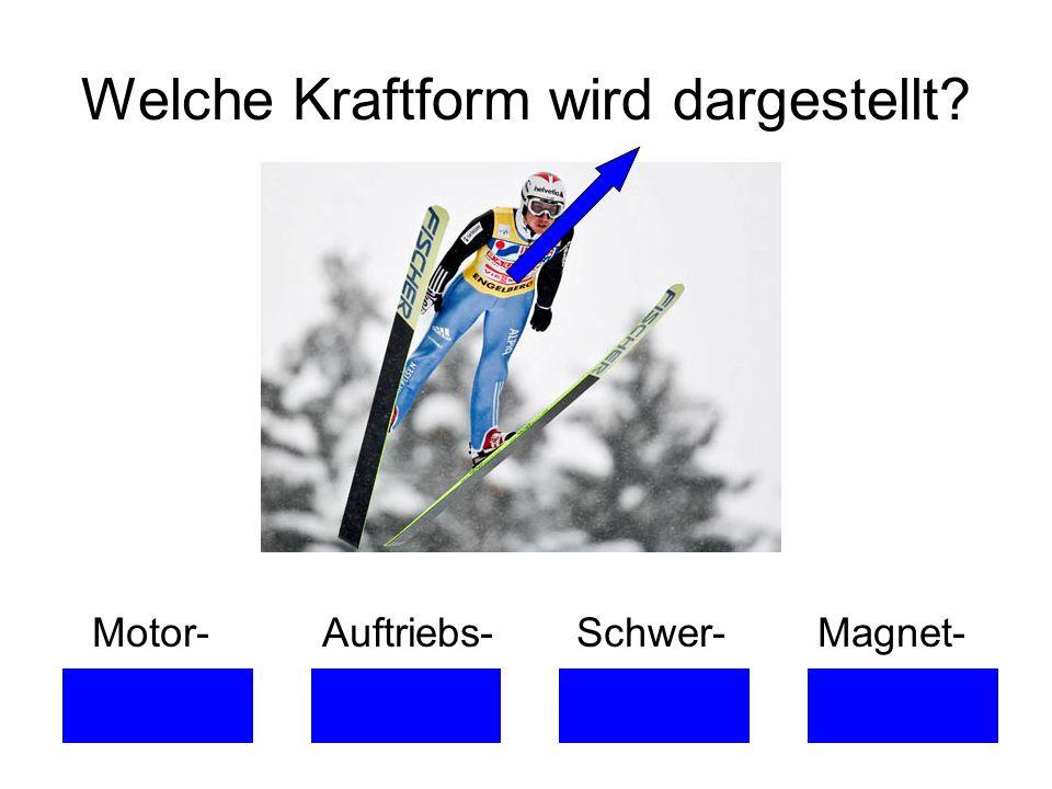 Welche Kraftform wird dargestellt