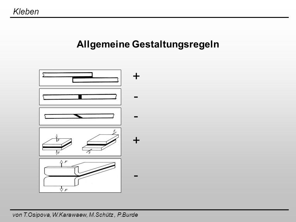 Allgemeine Gestaltungsregeln