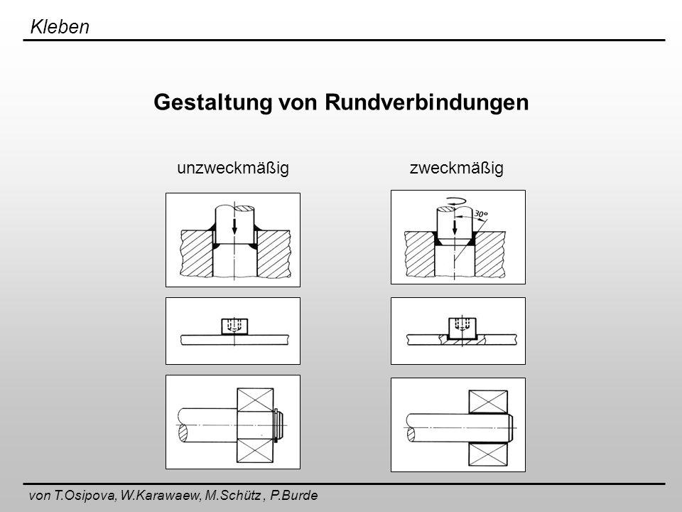 Gestaltung von Rundverbindungen