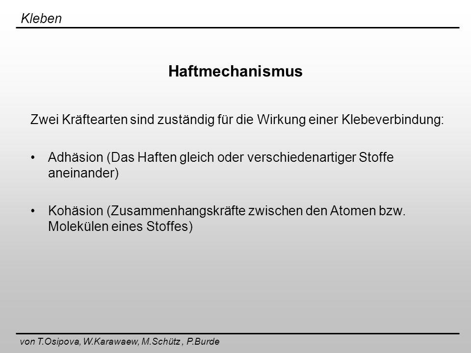 von T.Osipova, W.Karawaew, M.Schütz , P.Burde