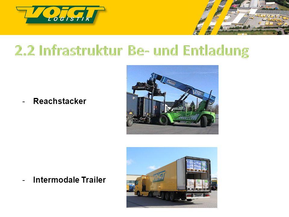 2.2 Infrastruktur Be- und Entladung