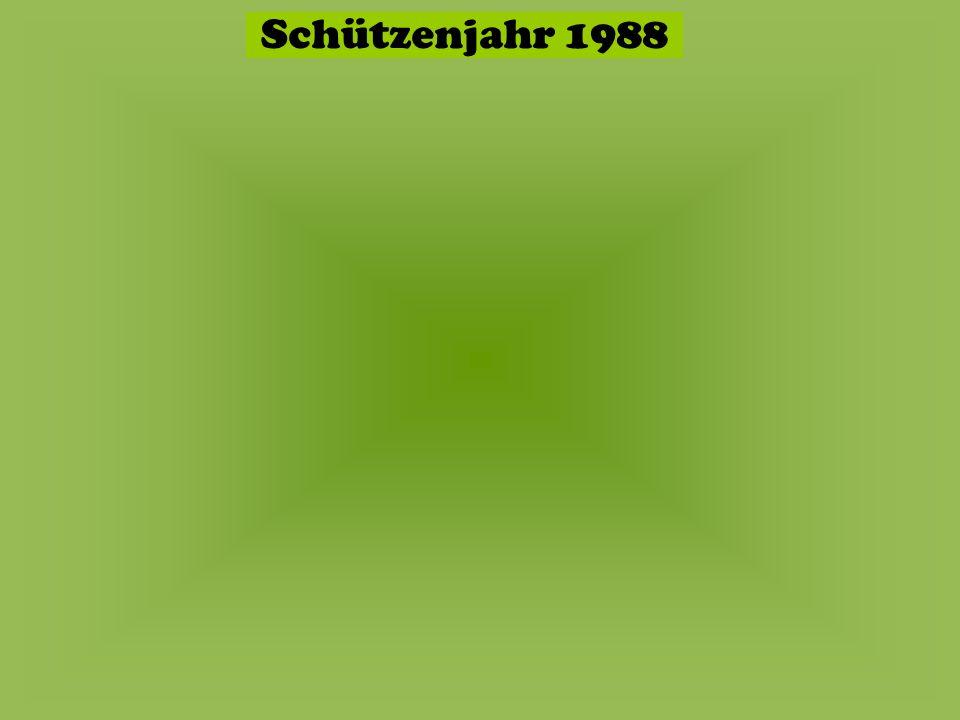 Schützenjahr 1988