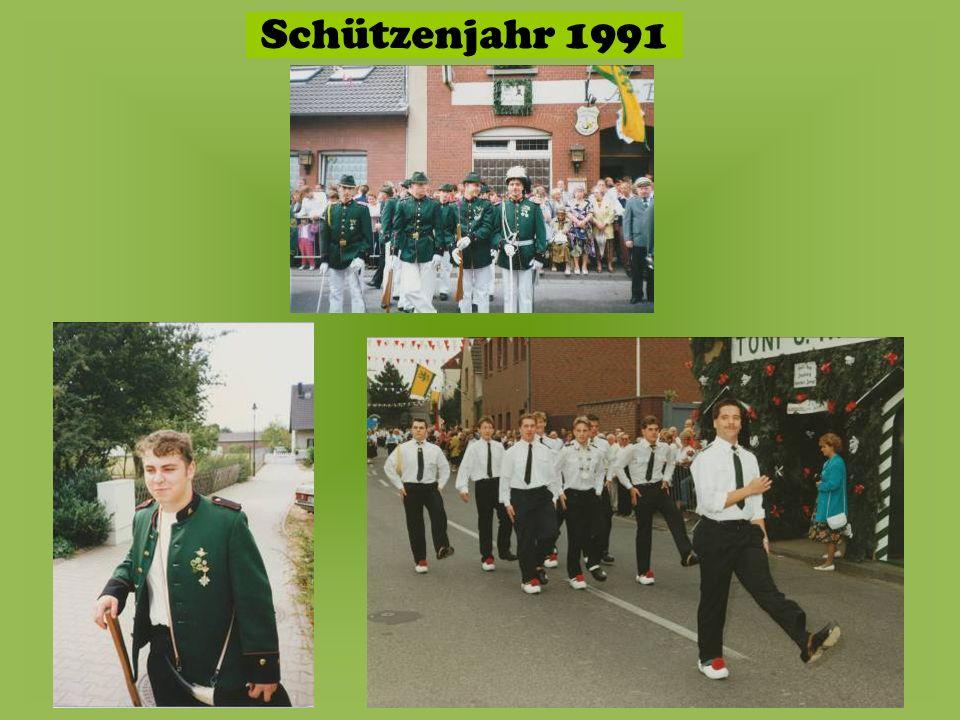 Schützenjahr 1991