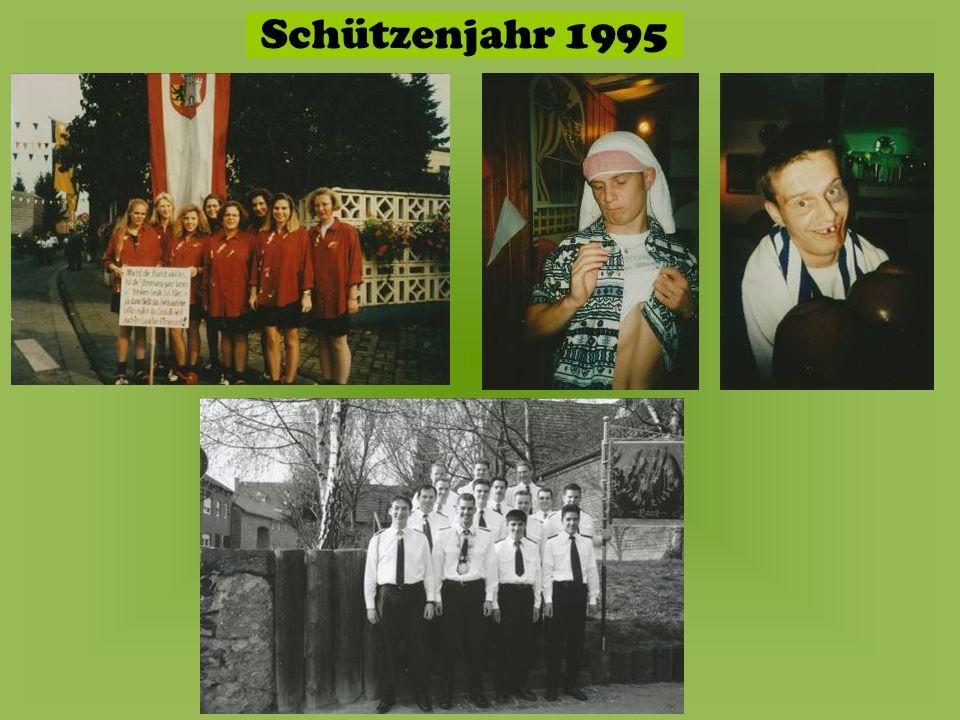 Schützenjahr 1995