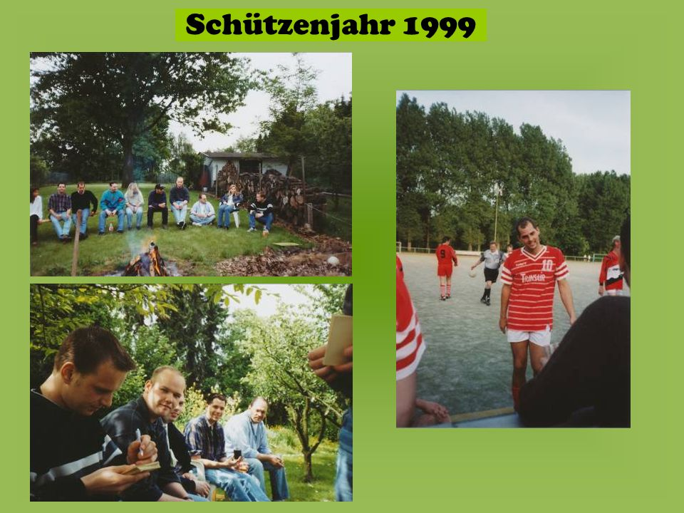 Schützenjahr 1999
