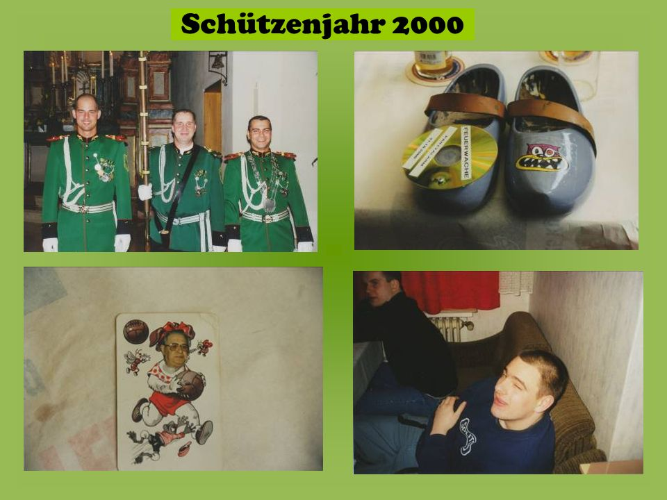 Schützenjahr 2000