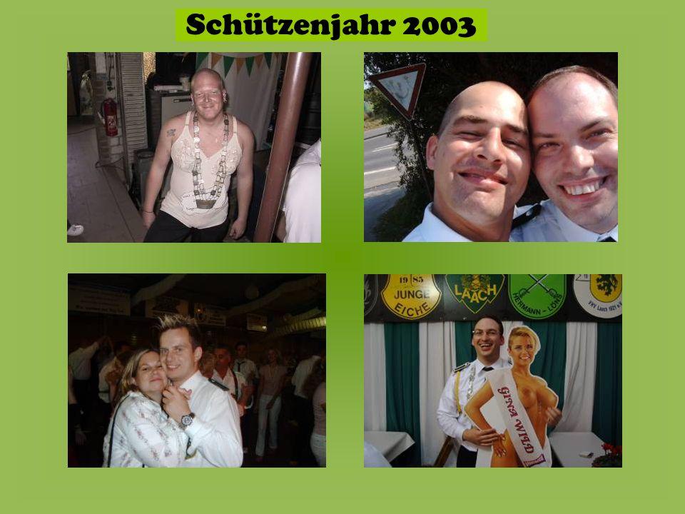 Schützenjahr 2003